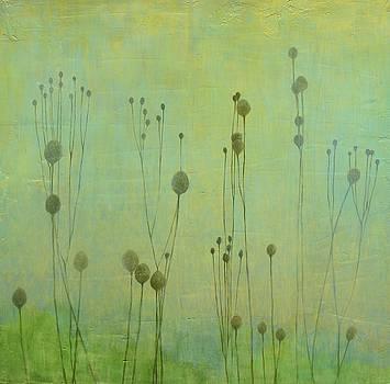 Pale Green Pods by MaryAnn Crago