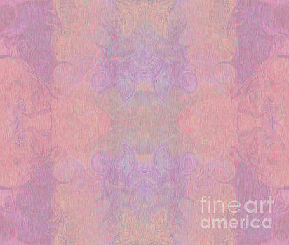 Omaste Witkowski - Pale Pink Joy Abstract Inspirational Words Artwork by Omaste Wit