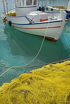 Robert Lacy - Paleohora Fishing Boat