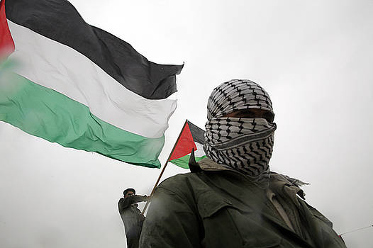 Palestinian Protester by Jason Moore