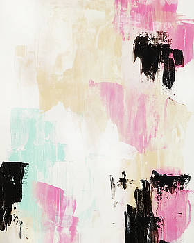 Palette Knife Abstract by Cortney Herron