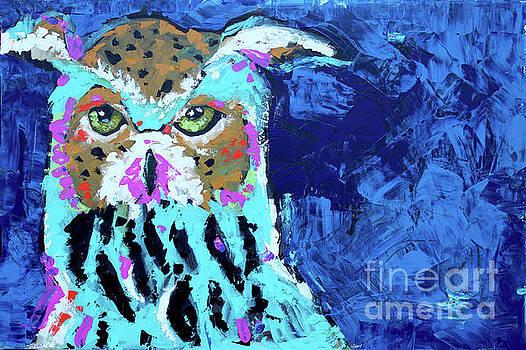 Palette Owl by Nicole Gaitan