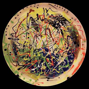 Palette Pot #7 by Kym Nicolas