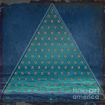 Palindrome Pyramid V1-Enigmatic by Peter Awax
