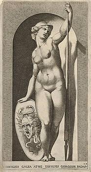 Giovanni Jacopo Caraglio - Pallas Athena