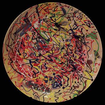 Palette Pot #1 by Kym Nicolas