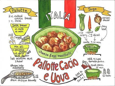 Pallotte Cacio by Diane Fujimoto