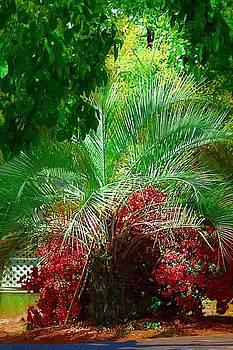 DONNA BENTLEY - Palm and Azaleas
