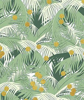 Palm and Gold by Uma Gokhale