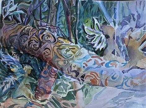 Palm Branch Sun Fairies by Mindy Newman
