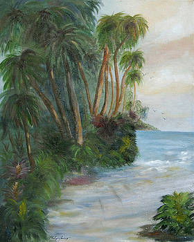 Palm Breeze by Shirley Lawing