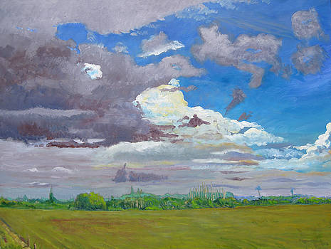 Palm Coast Florida Clouds Series II by D T LaVercombe