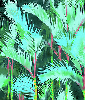 Palm Forest by Uma Gokhale