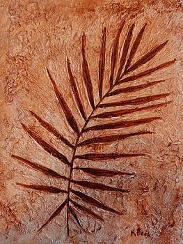 Palm Fossil by Katherine Young-Beck