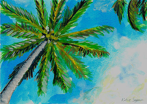 Palm in the Sky by Katie Sasser