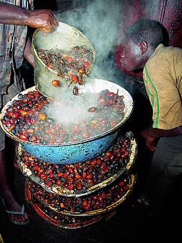 Palm Kernel fruits boiling by Muyiwa OSIFUYE