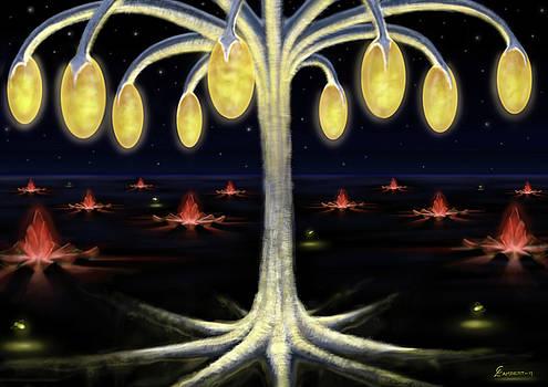 Palm of Light by Cliff Lambert