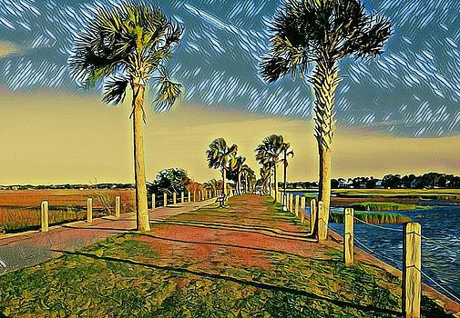 Palm Parkway by Sherry Kuhlkin