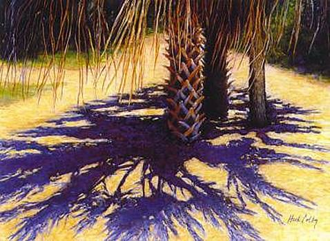 Palm Shadows by Ruth Hook Colby