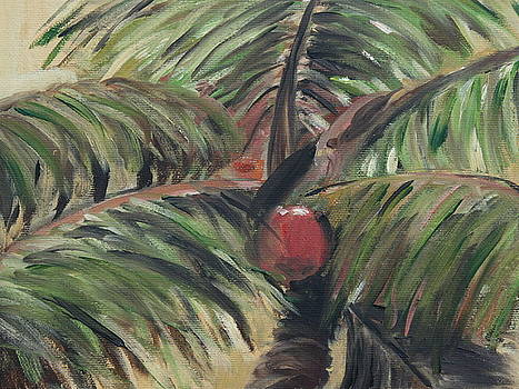 Palm Study by Julie Ferrario
