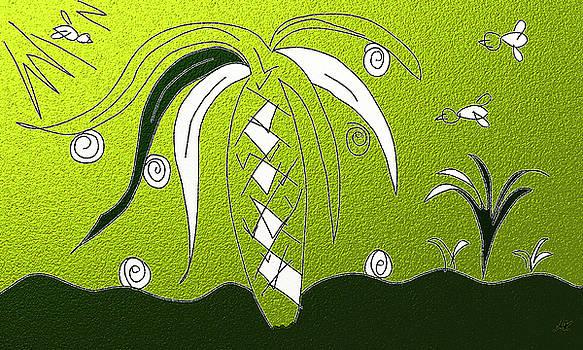 Palm Tree by Agnes Karcz
