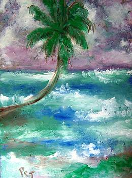 Patricia Taylor - Palm Tree and the Sea
