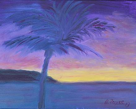 Palm Tree by Barbara Joyce