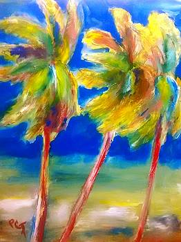 Palm Tree Color by Patricia Taylor