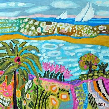 Palm Tree Dream by Karen Fields