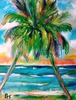 Patricia Taylor - Palm Tree Embrace