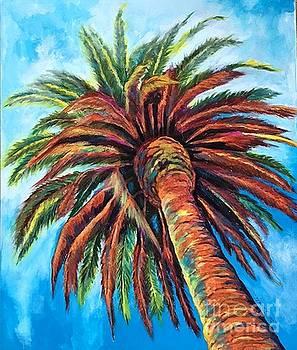 Palm Tree by Gail Zavala
