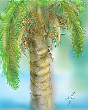 Palm Tree Study Two by Darren Cannell