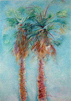 Palm Trees2 by Michael Ryan