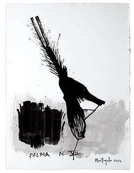 Palma Nr 7 - The dead phoenix by Enzo Mastrangelo
