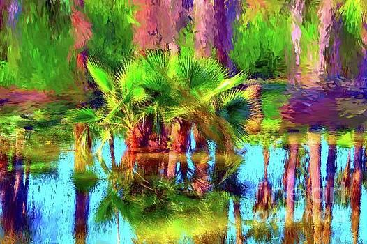 Palms in Estuary by Gerhardt Isringhaus