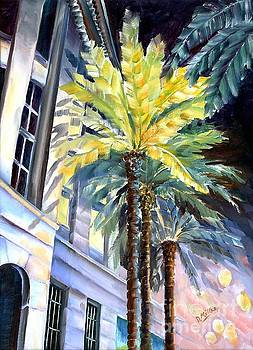 Palms in New Orleans by Diane Millsap