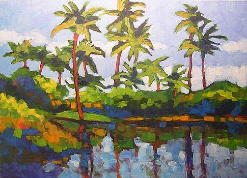 Palms Reflections by Mary McInnis