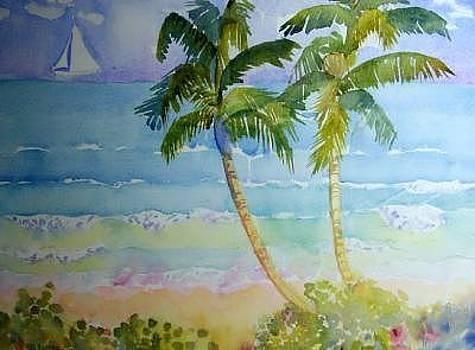 Palms by Tufts Davis