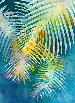 Palms, Waving in the Breeze by Mary Sue Copeland