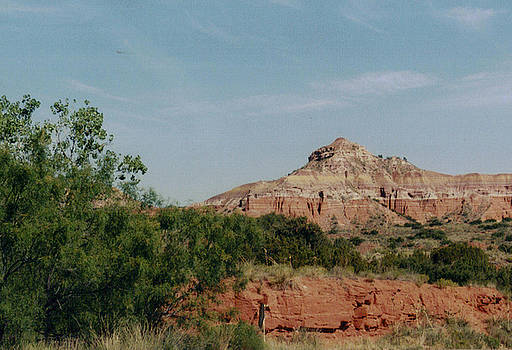 Palo Duro Painted Cliffs by CGHepburn Scenic Photos