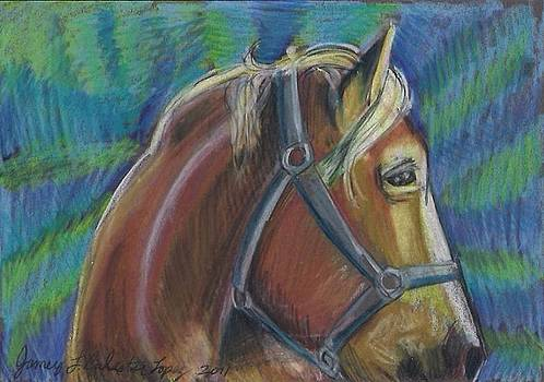 Jamey Balester - Palomino  Drawing