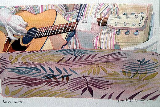 Palos guitar by Scott Mulholland