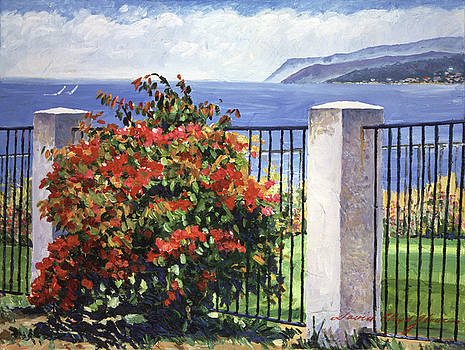 Palos Verdes Shore  by David Lloyd Glover