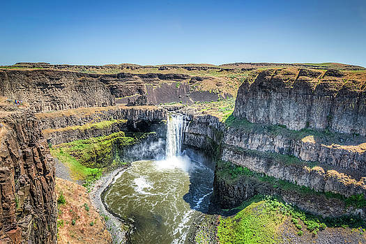 Palouse Falls by Spencer McDonald