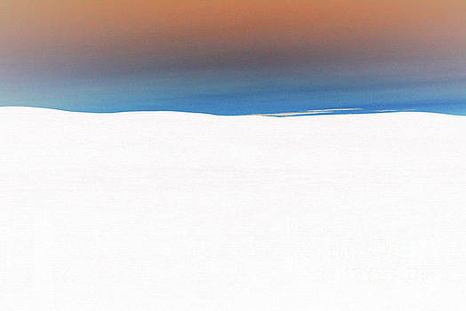 Palouse White Sunset by Rich Collins