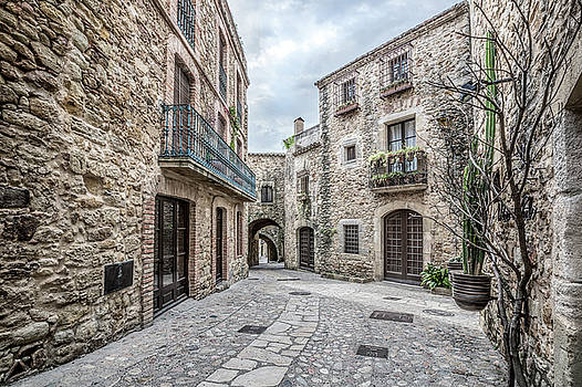 Pals, Carrer Major in Catalonia by Marc Garrido