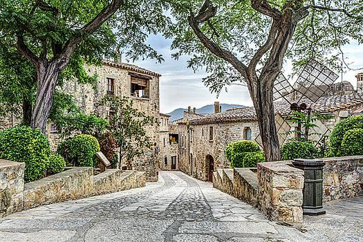 Pals Medieval Village by Marc Garrido