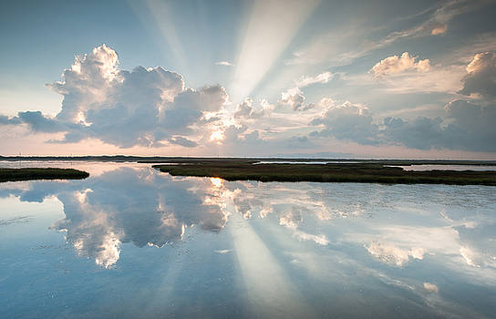 Pamlico Sound OBX Cape Hatteras National Seashore by Mark VanDyke