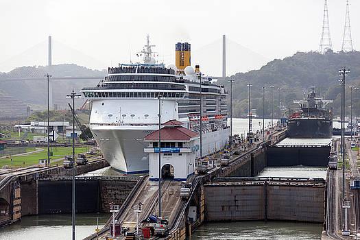 Ramunas Bruzas - Panama Canal Locks
