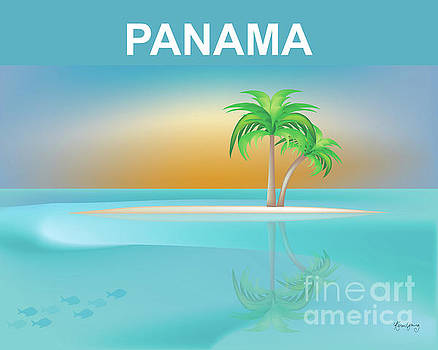 Panama Horizontal Scene by Karen Young